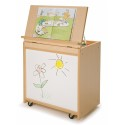 Whitney Brothers WB6255 Big Book Display With Write & Wipe Back