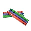 Sherman Specialty S11029 3-Pack Cello Wrapped Crayon, CS of 1000/PK