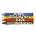 Sherman Specialty S70803 4-Pack Cello Wrapped Crayons, CS of 1000/EA