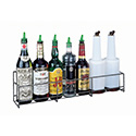 San Jamar B5624SG Wire Speed Rack Bottle Holder - (6) Qt/Ltr Bottles