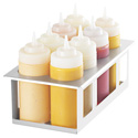 Server Products 86974 - Sbh-8 Squeeze Bottle Holder