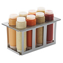 Server Products 86996 - Sbh-8 Squeeze Bottle Holder Set