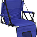 Folding Stadium Chair in Blue
