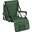Folding Stadium Chair in Green