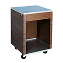 """Vollrath 38700 Affordable Portable Cashier Station, 24""""W"""
