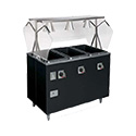 """Vollrath T38710 Affordable Portable Hot Food Station Deluxe, (4) Well, 60""""W"""