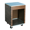 """Vollrath 38720 Affordable Portable Cashier Station, 24""""W"""