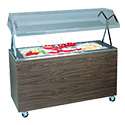 """Vollrath 3873346 Affordable Portable Cold Food Station, (3) Pan, 46""""W"""