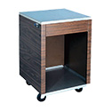 """Vollrath 38760 Affordable Portable Cashier Station, 24""""W"""