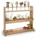 Whitney Brothers WB030910 Tall Tubes for Nature Shelf