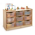 Whitney Brothers WB0909T 9 Tray Storage Cabinet