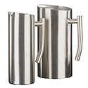 American Metalcraft WPSF33 Pitcher, Contemporary W/Ice Guard, 33 Oz.