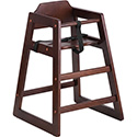 Flash Furniture XU-DG-W0024-NAT-GG Hercules Series Stackable Natural Baby High Chair
