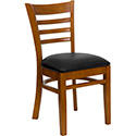 Flash Furniture Hercules Ladder Back Wooden Chair