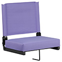 Game Day Seats by Flash with Ultra-Padded Seat in Purple