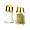 Vollrath 802G-12 - Traex Dripcut Continental Collection Salt and Pepper Shakers