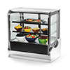 Vollrath 40867 Cubed Glass Countertop Heated Display Cabinet 60""