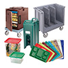 Camcarts for Food Boxes and Trays/Sheet Pans