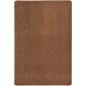 Joy Carpets 80Q-10 Endurance Area Rug, 6' x 9', Rectangular, Brown